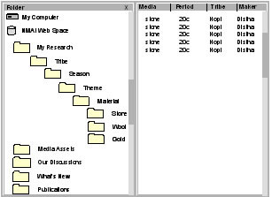 individual folder structure
